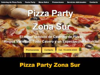 diseño web catering